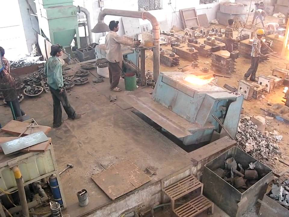 Induction Melting - Steel Melting Furnace - YouTube