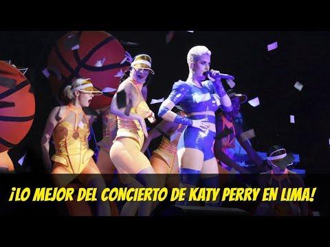 Katy Perry en Lima : Lo mejor de su concierto junto a Bebe Rexha