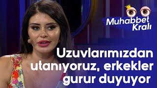 Ebru Polat: Biz uzuvlarımızdan utanıyoruz, erkekler gurur duyuyor - Muhabbet Kralı