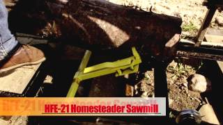 2014 Hfe 21 Portable Sawmill Saw Mill Lumber Maker Bandmill Band Mill