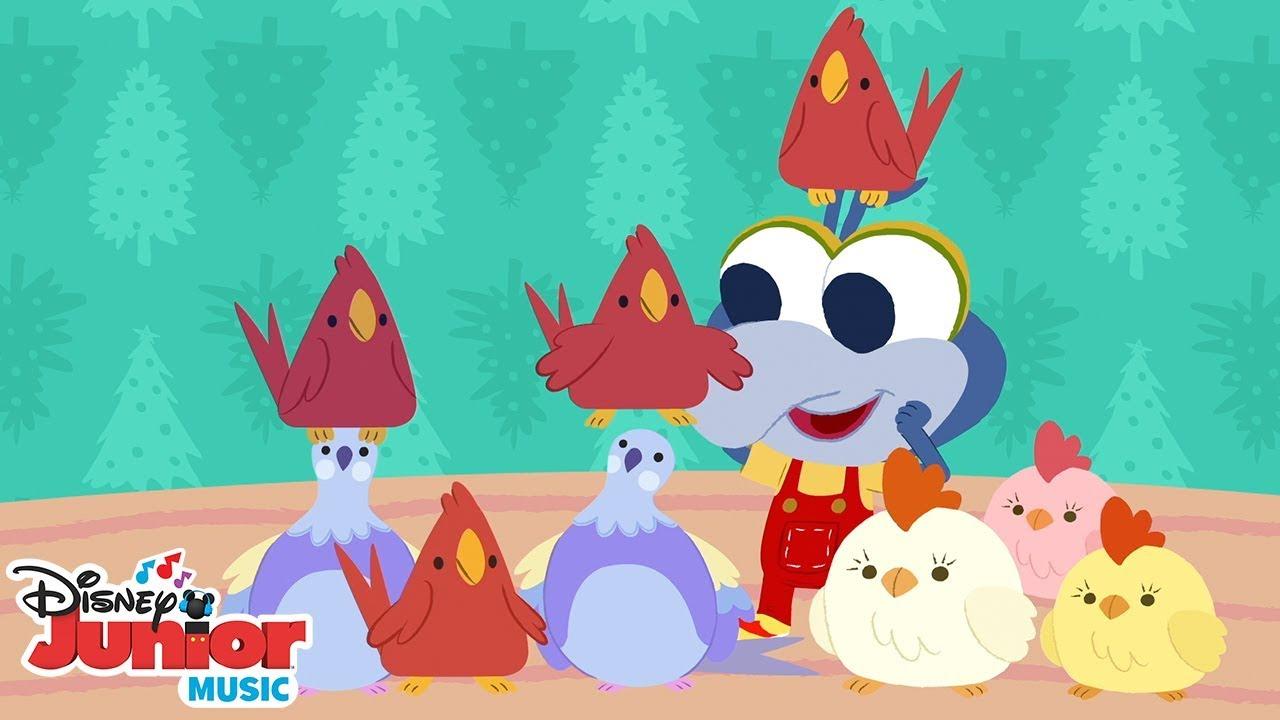12 Days Of Christmas 🎄 🎶 Disney Junior Music Nursery