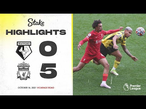 Watford 0-5 Liverpool | Extended Highlights