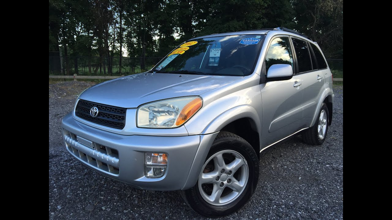 2002 toyota rav4 limited 4wd for sale by carfax certified youtube. Black Bedroom Furniture Sets. Home Design Ideas