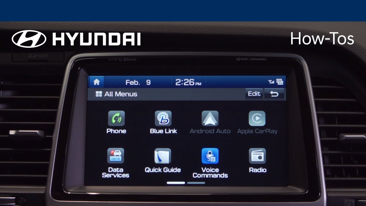 Bluetooth wireless devices allow you to have more freedom in operating equipment since they are not attached by wires. How To Pair A Device With Your Hyundai S Bluetooth System Hyundai Youtube