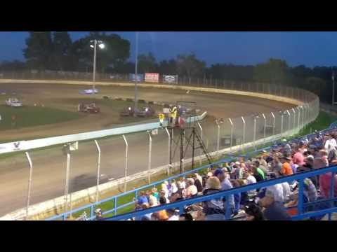 Super late models feature race at Florence speedway 7/15/17