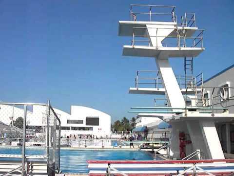 8 Year Old Grace Telegadis Jumps Off 10 Meter Platform 1st TIme
