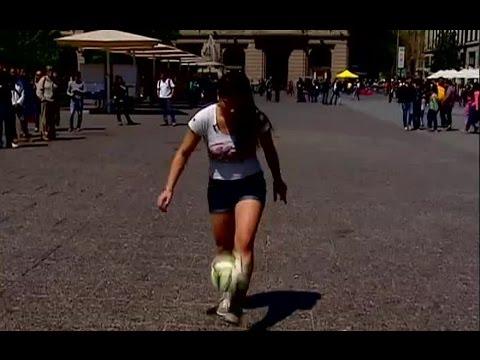 Joven chilena es una de las mayores exponentes del freestyle fútbol en el mundo - CHV Noticias
