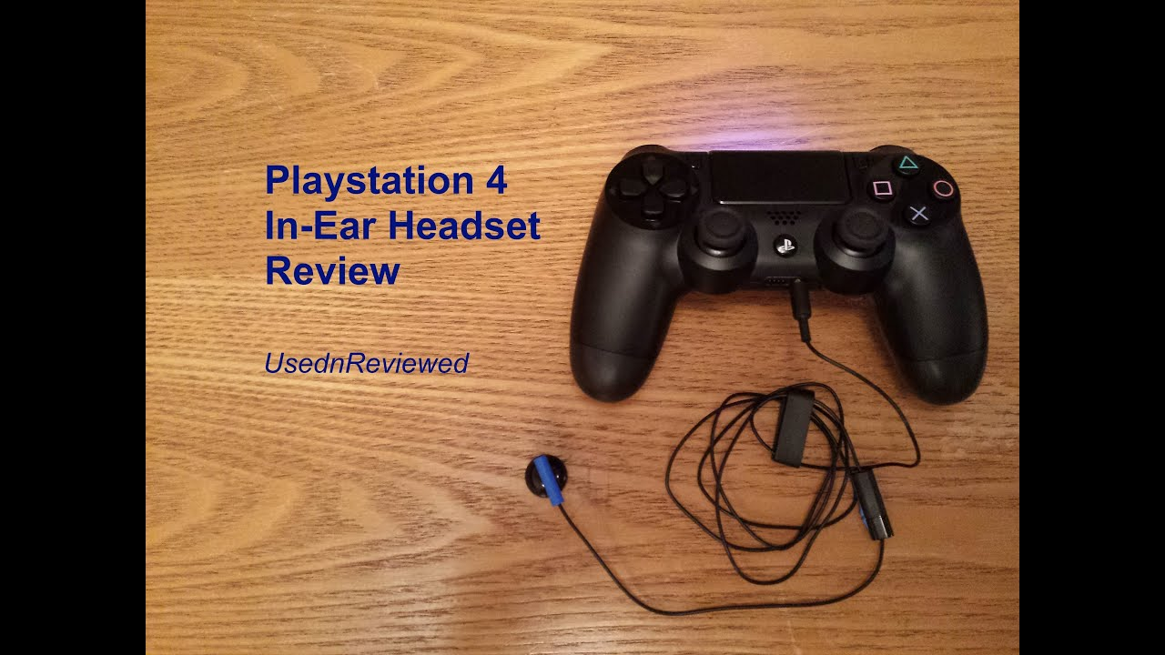 Playstation 4 ps4 in ear earphoneheadset review ps4 earphones playstation 4 ps4 in ear earphoneheadset review ps4 earphones youtube ccuart Image collections