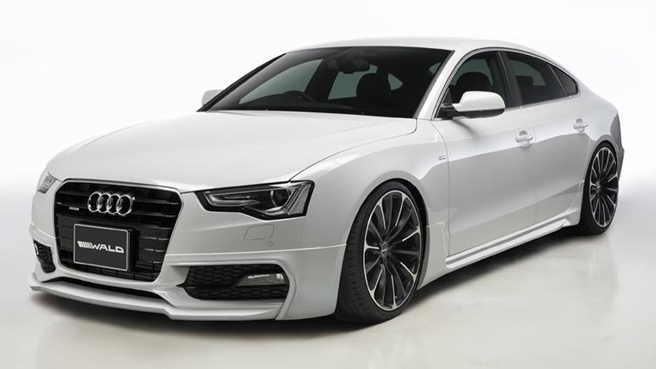 Audi A5 Sportback Gets Body Kit From Wald International