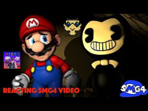 Reaction: SMG4: BENDY And The SPAGHETTI MACHINE