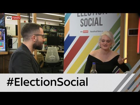 Sky News: #ElectionSocial: 'Nothing worse than politician's trying to be funny'