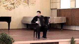 Astor Piazzolla: Meditango ACCORDION Kurylenko Куриленко баян Accordeon Akkordeon Fisarmonica