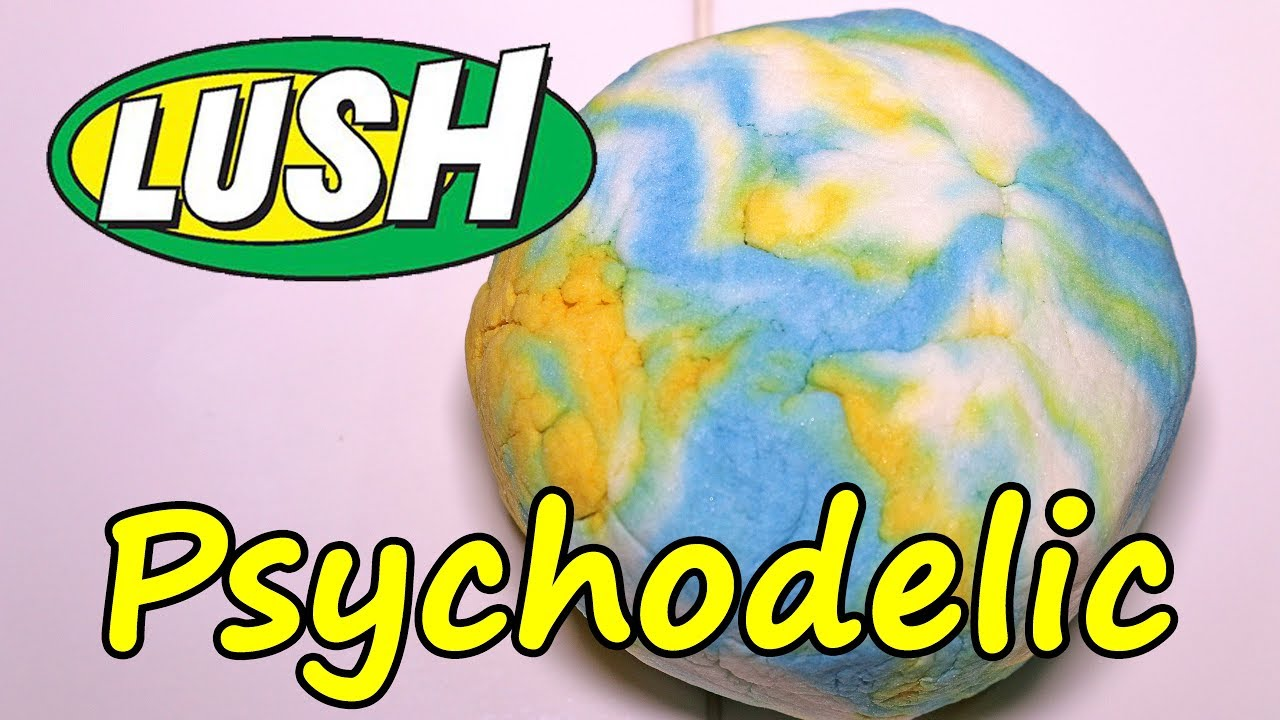 lush - pyschodelic bubble bar - demo - review - uk kitchen - youtube