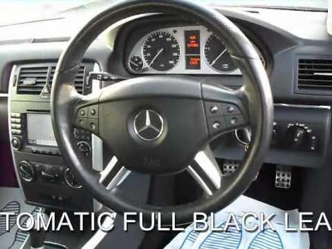 for sale mercedes b200 cdi se automatic satellite navigation full black leather youtube. Black Bedroom Furniture Sets. Home Design Ideas
