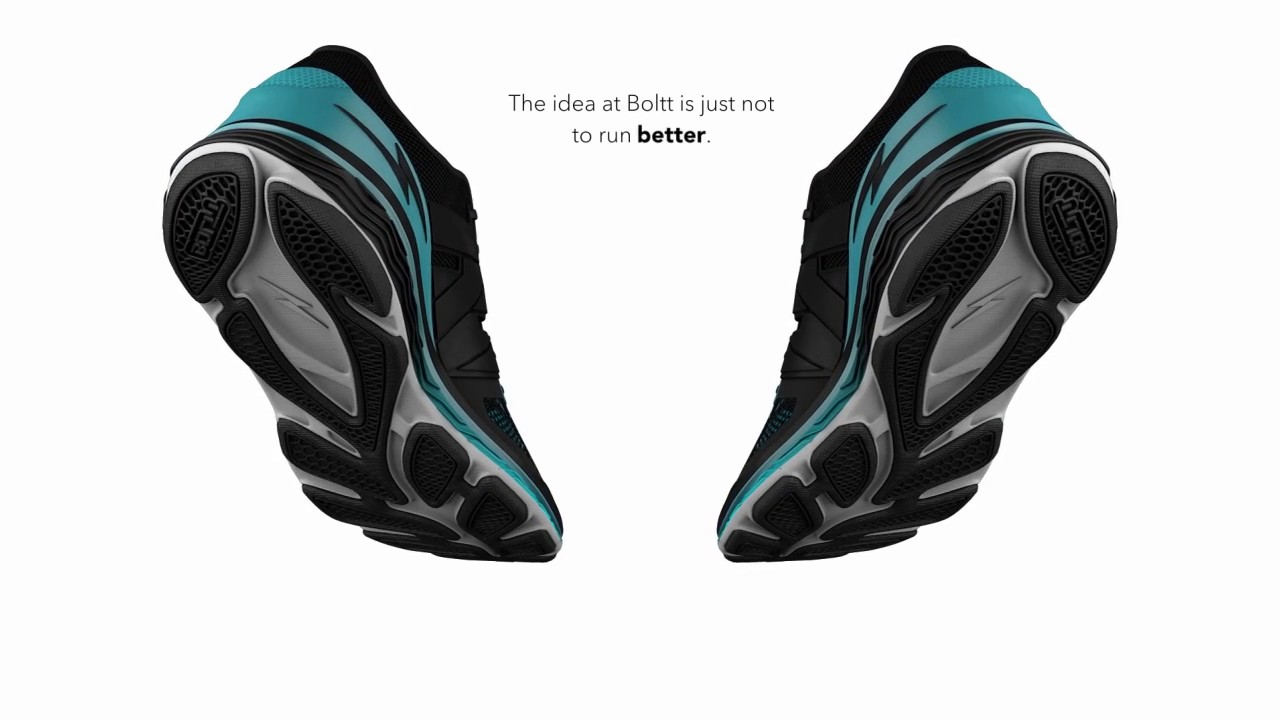 BOLTT - Smart Shoe - YouTube