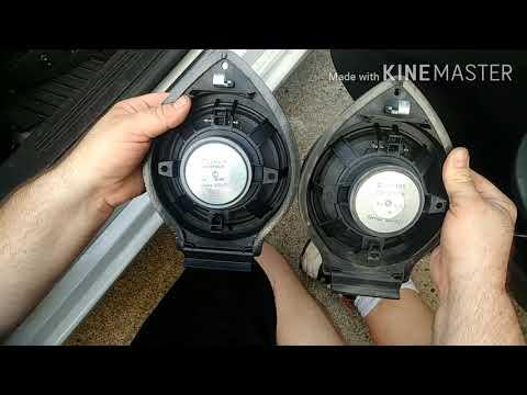 Front Door Speaker Replacement 2007-2012 Saturn Aura-Chevy Malibu-Pontiac G6 (Epsilon I body cars)