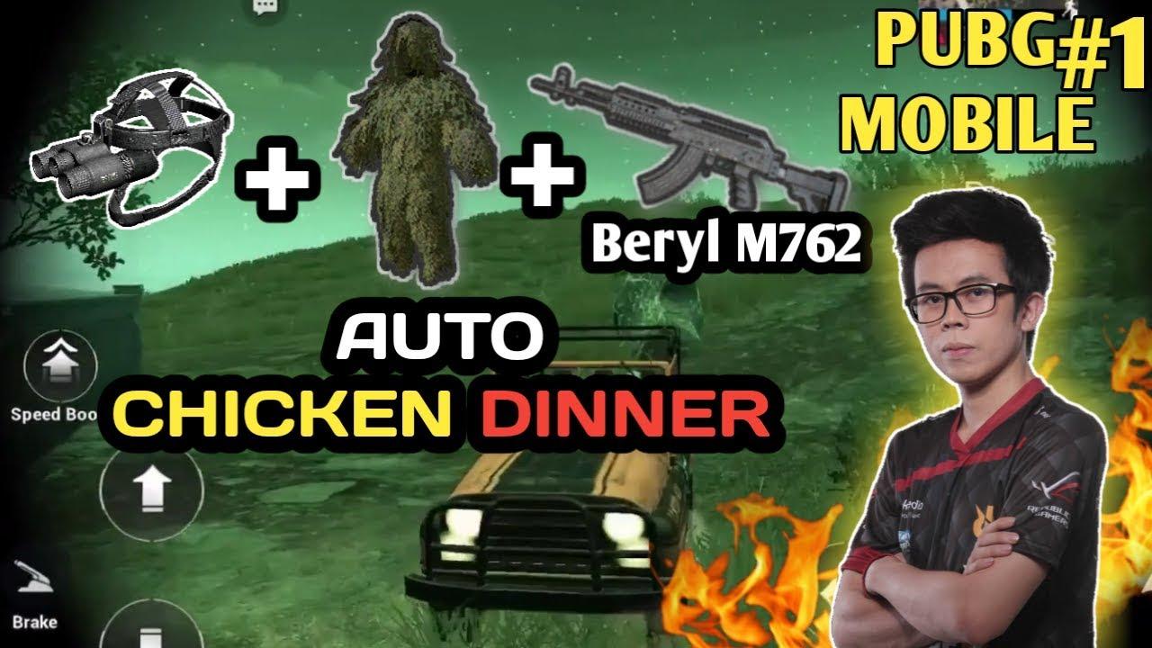 M762 Pubg: REVIEW NIGHT MODE, NIGHT VISION, & SENJATA BARU ( Beryl