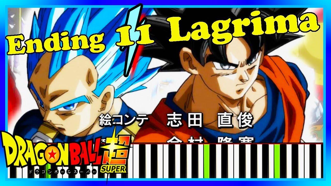 dragon ball super ending 11 lagrima download