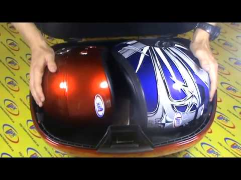 Вместительный Кофр на два шлема для скутера.