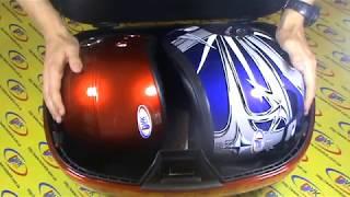 вместительный Кофр на два шлема для скутера