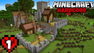 Hardcore Minecraft Let's Play | A Perfect Start! Episode 1