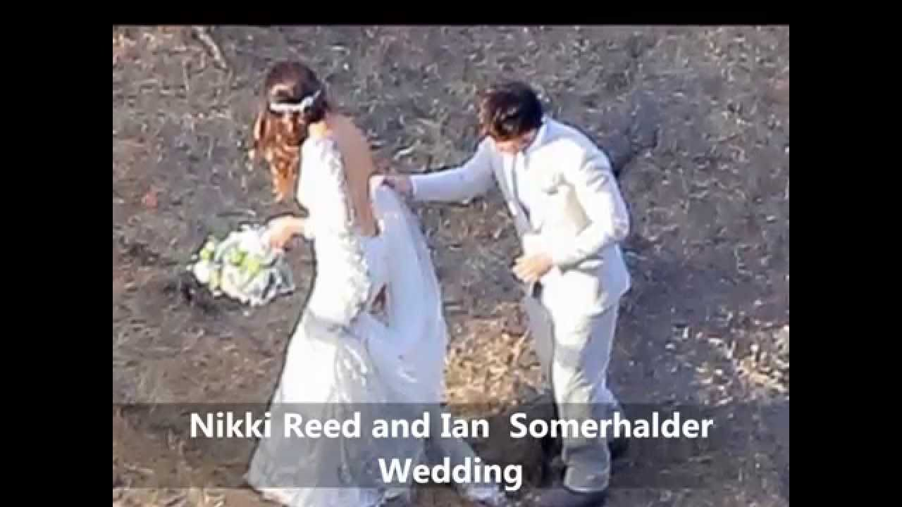 Nikki reed and ian somerhalder wedding nikki reed married youtube junglespirit Images