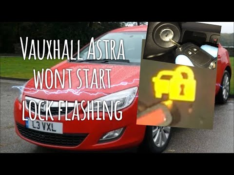 "Vauxhall Opel Astra Lock Warning Light ""Won't Start"" How To Repair"