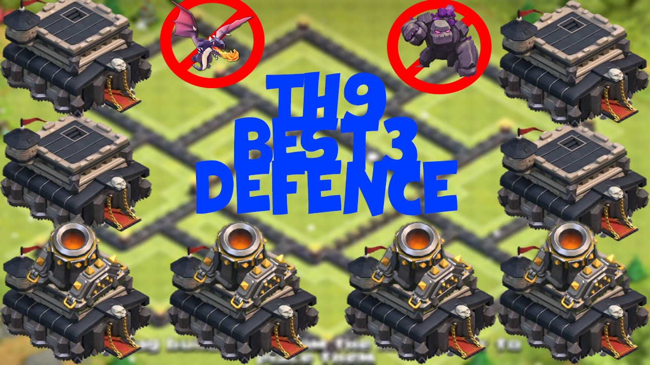 Mortar th9 trophy base top 3 in the world bases war doovi