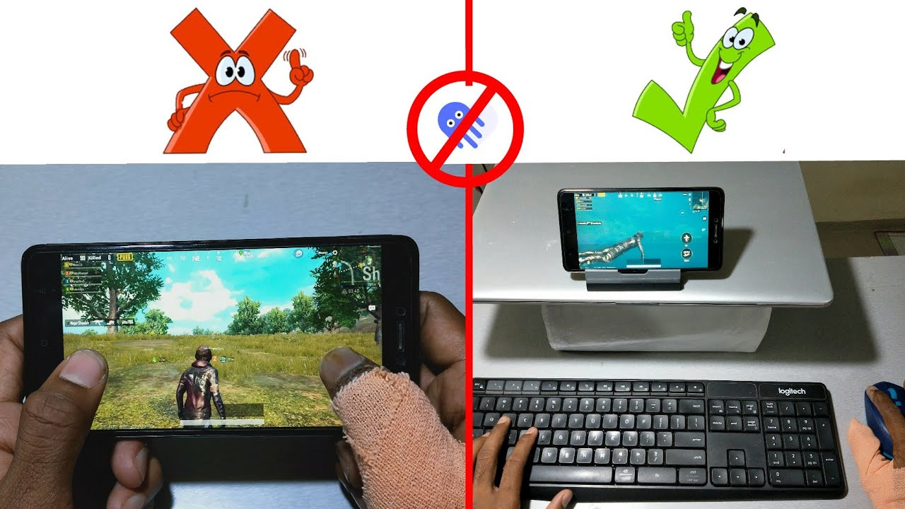 How to play PUBG Mobile With Keyboard And Mouse  – Mobile Of Things