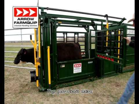 Arrow Farmquip NEW 8400 Squeeze Chute - North America