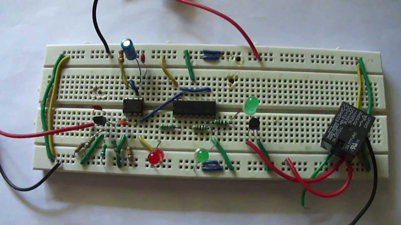 Clap Operated Remote Control For Devices Youtube Circuit Diagram Of Switch