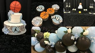 Baby Shower Ideas And Tips| Sports Theme| Basketball