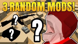 3 Random Ravenfield Mods #3   ROBLOX, RC Robot Drone, French