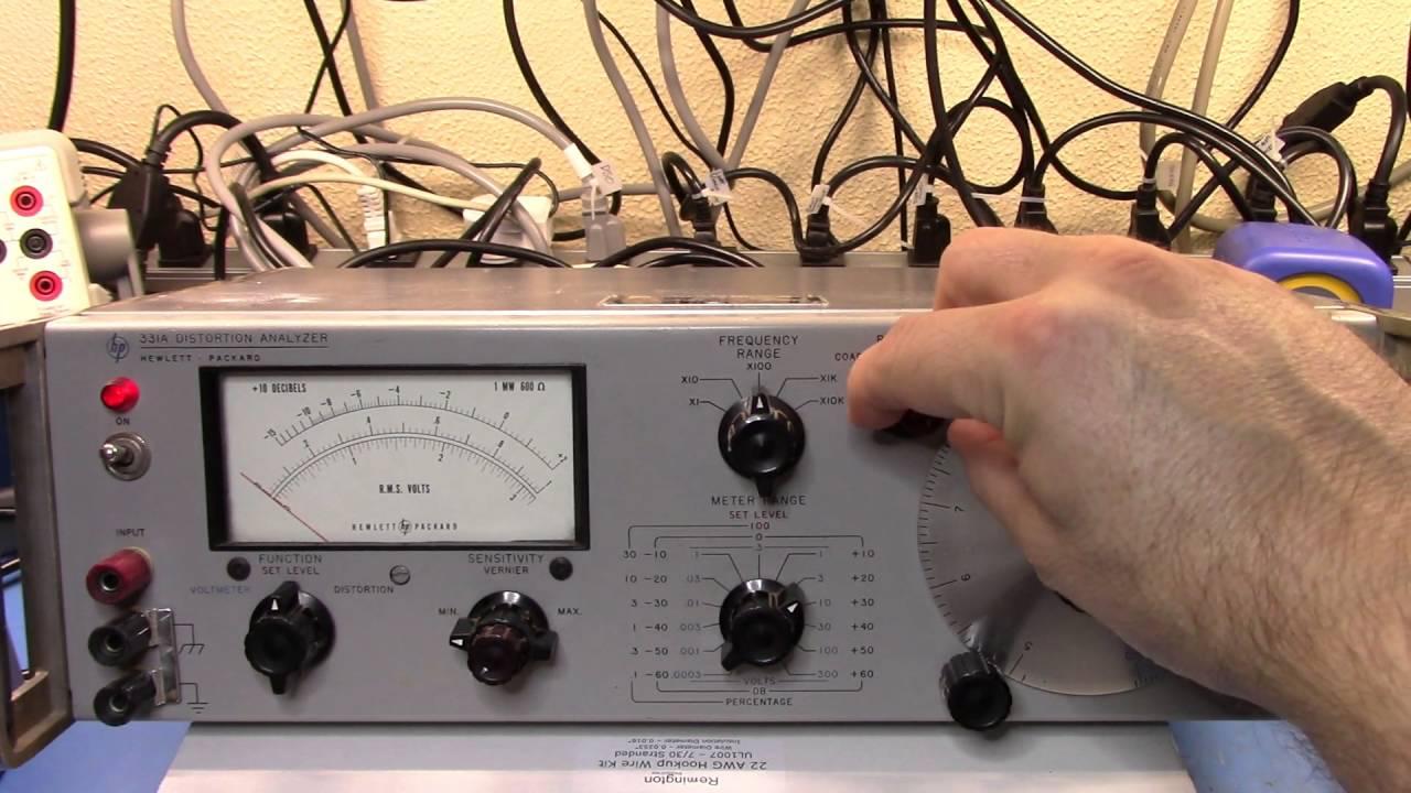 HP 331A Distortion Analyzer