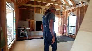 First Walk Inside The Off Grid Cabin