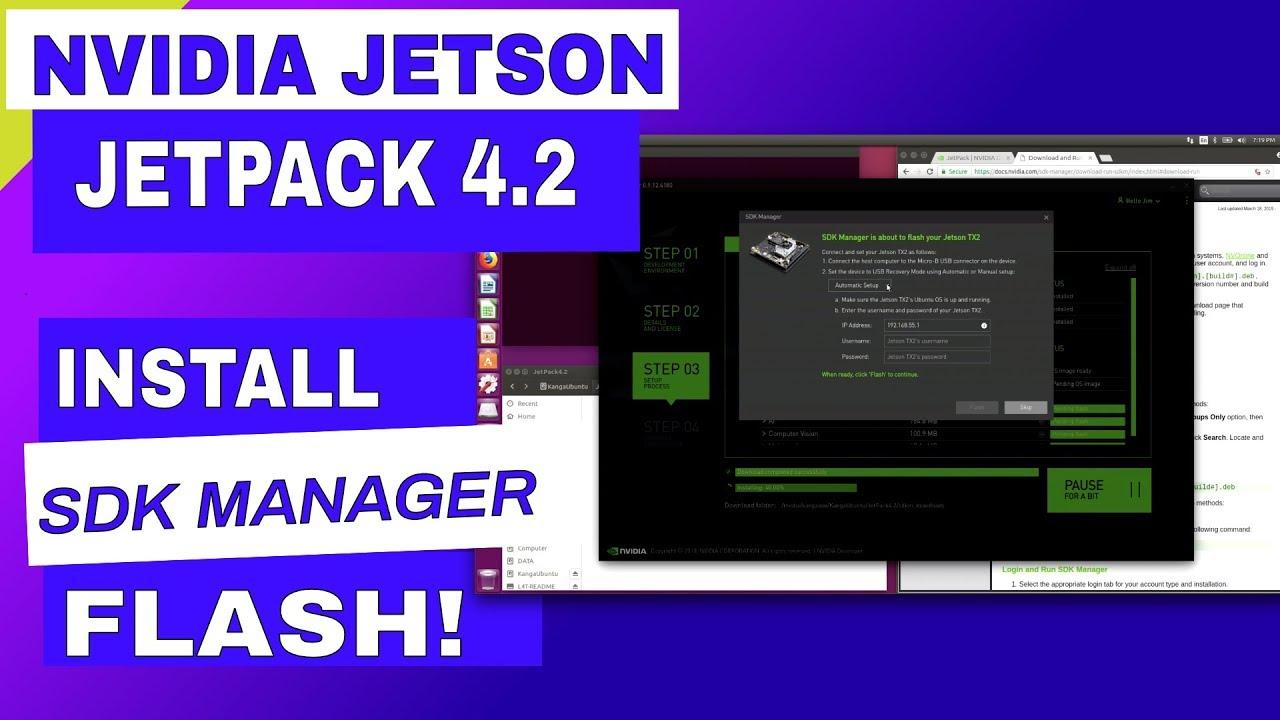 NVIDIA SDK Manager for Jetson - JetPack 4 2 - JetsonHacks