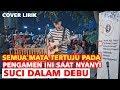 SUCI DALAM DEBU - IKLIM (LIVE AKUSTIK) COVER LIRIK BY TRI SUAKA | PENDOPO LAWAS