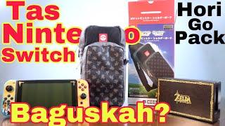 tas untuk bawa nintendo switch ? nintendo switch hori go pack pokemon review #horigopackpokemon