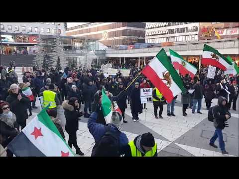 Stockholm: Stand up for the Iranian people!