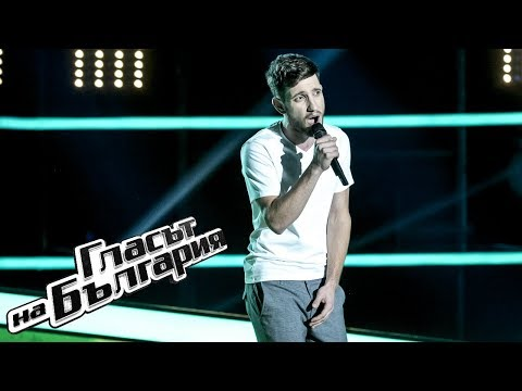 Atanas Kateliev - Master Blaster | Blind Auditions | The Voice of Bulgaria 2019