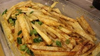 Making Jicama Fries on Blythe Raw Live