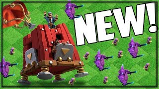 NEW SIEGE BARRACKS Gameplay! Clash of Clans UPDATE Sneak Peek #2!