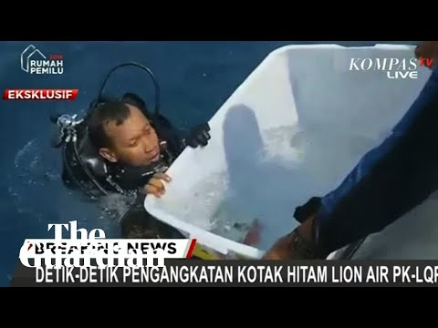 Divers retrieve black box from Lion Air plane