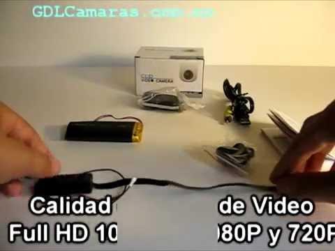 Full HD 1080P DIY Mini Modulo Camara de Seguridad CCTV
