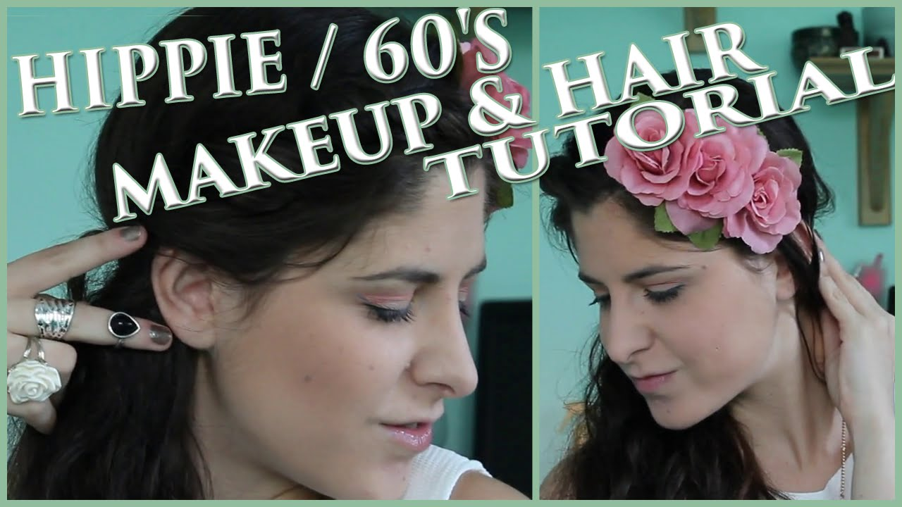 60's Makeup Lesson for the Hippie from 1969 | Vintage ... |Hippies Short Hair And Makeup