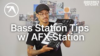 3 Novation Bass Station 2 Tips w/ the Aphex Twin AFX Station