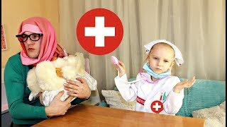 Доктор в ШОКЕ от БАБУЛИ !!! Играем в ДОКТОРА ! Видео для детей