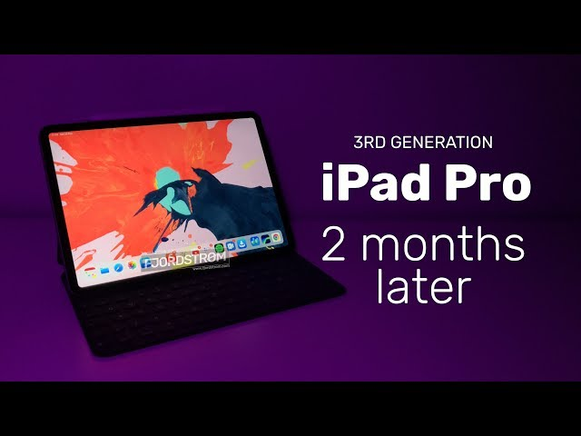 iPad Pro 2018: my main productivity device for video editing and education