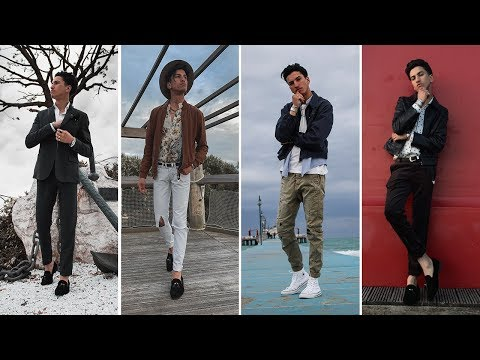 4  Easy Men's Outfits For Spring | Men's Lookbook Spring 2019 | BRAHIM DAHMANI
