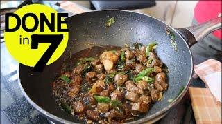 Oseng Daging Cabai Hijau - Done In 7.